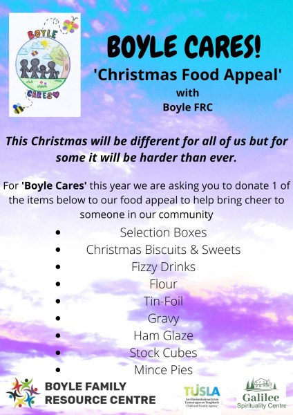 Boyle Cares - Christmas Food Appeal